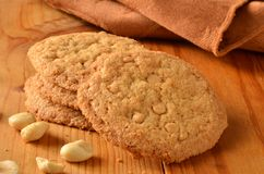 Gourmet peanut butter cookies Stock Images