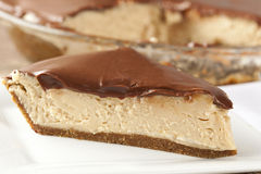 Gourmet Peanut Butter Pie Royalty Free Stock Image
