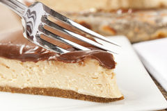 Gourmet Peanut Butter Pie Stock Image