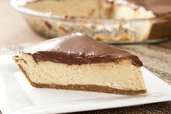 Gourmet Peanut Butter Pie Royalty Free Stock Photo
