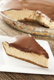 Gourmet Peanut Butter Pie Stock Photo