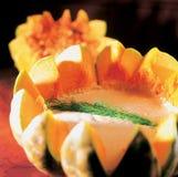 Gourmet plate stock photos