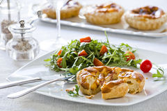 Gourmet Quiche Stock Images