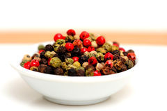 Gourmet Rainbow Peppercorns Royalty Free Stock Photos