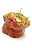 Gourmet rib eye fillet Stock Images
