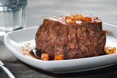 Gourmet Roasted Meat Royalty Free Stock Photography