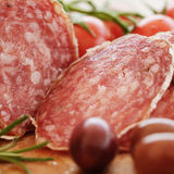 Gourmet salami Royalty Free Stock Photos