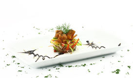 Gourmet seafood Royalty Free Stock Photo