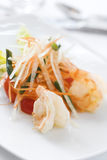 Gourmet Seafood Dish Stock Photo