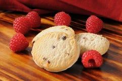 Gourmet shortbread cookies Stock Images