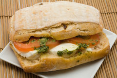 gourmet- smörgås Royaltyfri Foto