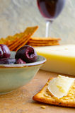 Gourmet snack royalty free stock images
