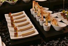Gourmet snacks Royalty Free Stock Image