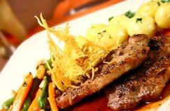 gourmet- steak Royaltyfri Fotografi