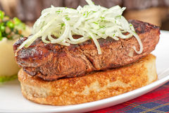 Gourmet steak meat Royalty Free Stock Photography