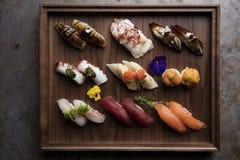 Gourmet- sushival arkivbild