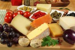 Gourmet table Stock Photos
