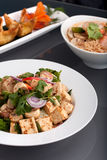 Gourmet Thai Food Dishes Royalty Free Stock Image