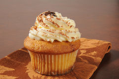 Gourmet tiramisu cupcake Stock Photo