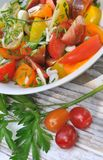 Gourmet tomatoes Stock Images