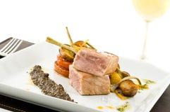 Gourmet tuna dish Stock Image