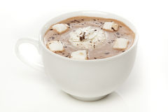 Gourmet- varm choklad Arkivbild