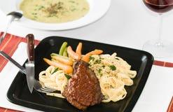 Gourmet Veal Dinner Stock Image