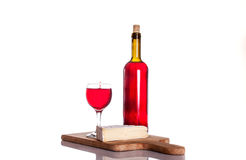 Gourmet wine and dine Stock Image