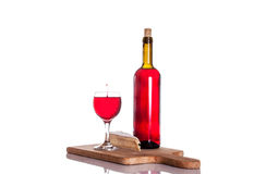 Gourmet wine and dine Stock Photo