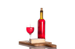 Gourmet wine and dine Stock Photography