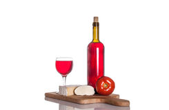Gourmet wine and dine Stock Photos
