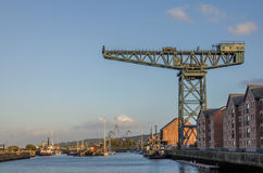 Gourock docks in Inverclyde Stock Images