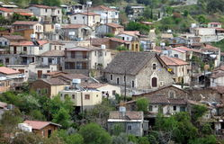Gourri Village. In the mountains of Cyprus stock image