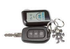 Gousset de clé et de keychain de voiture Photo stock
