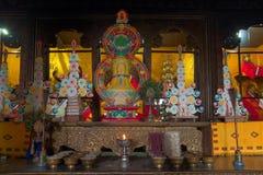 Goutama Buddha, Sikkim -, India Zdjęcie Royalty Free
