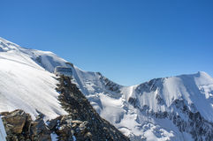 Gouter Refuge. Clasical route to mont blanc Royalty Free Stock Photo