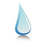 Goutte de l'eau Photographie stock