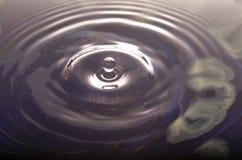 Goutte de l'eau Image libre de droits