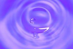 Goutte de l'eau Photos libres de droits