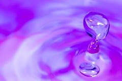 Goutte de l'eau Image stock