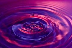 Goutte de l'eau Images stock