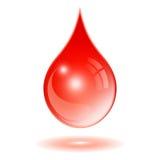 Goutte de sang Image libre de droits