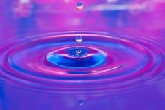 Gouttelette d'eau Photos libres de droits