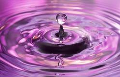 Gouttelette d'eau Images stock
