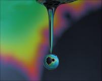Gouttelette d'eau de fractale Photo libre de droits