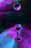 Gouttelettes d'eau Photographie stock libre de droits
