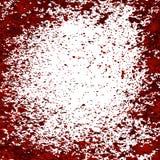 Gouttelettes de sang Photo libre de droits