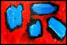 Gouttes d'art abstrait Image libre de droits