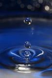 Gouttes de l'eau. Image libre de droits