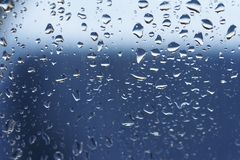 Gouttes de pluie 06 Photo libre de droits
